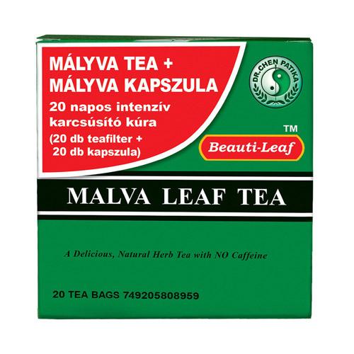 Dr. Chen Mályva tea és kapszula - 20-20db
