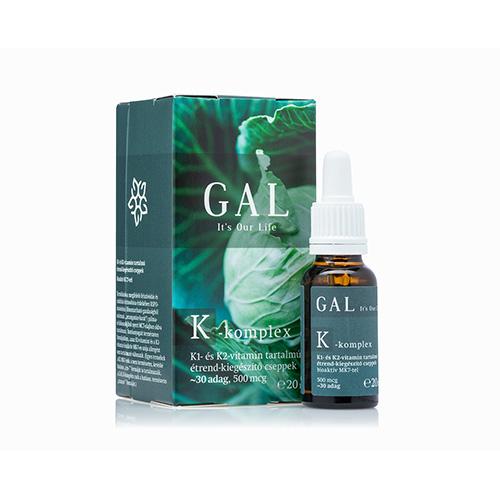 GAL K-komplex vitamin (500 mcg) - 30 adag