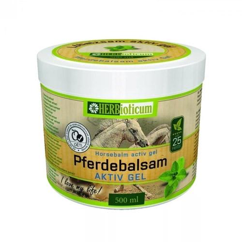 HERBioticum Lóbalzsam aktív gél - 500ml