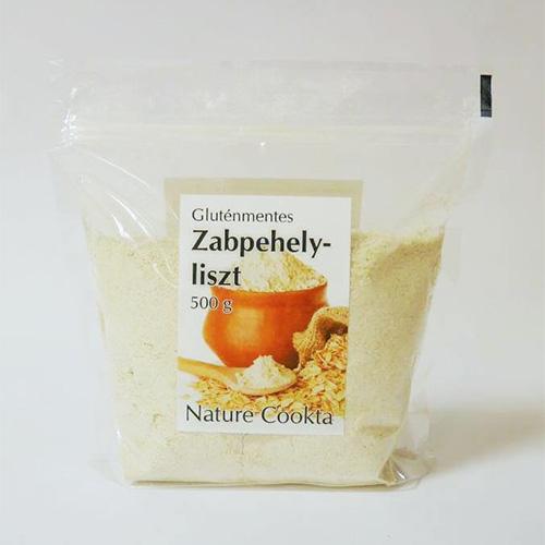 Nature Cookta Gluténmentes Zabpehelyliszt - 500g