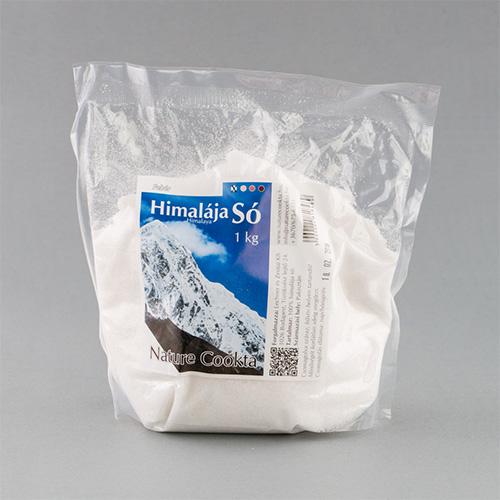 Nature Cookta Himalája Fehér Kristálysó - 1000g