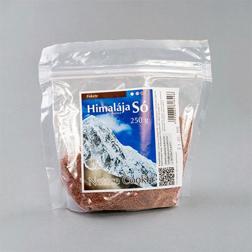 Nature Cookta Himalája Fekete Kristálysó - 250g