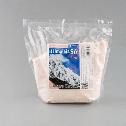 Nature Cookta Himalája Rózsaszín Kristálysó - 1000g