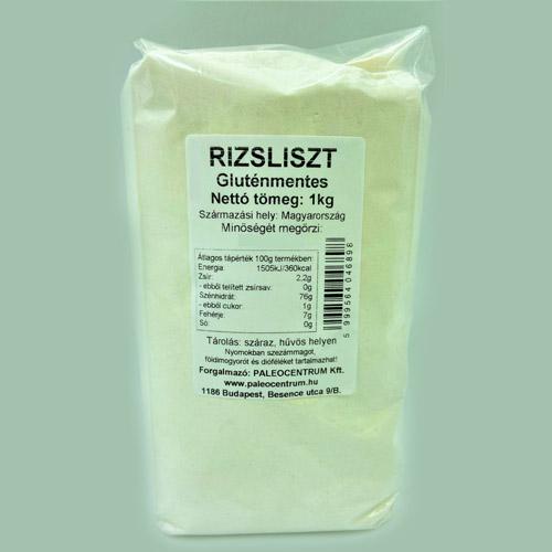 Paleolit Gluténmentes rizsliszt - 1000g