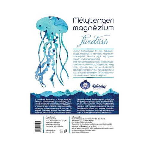 Paleolit Mélytengeri magnézium fürdősó - 1000g