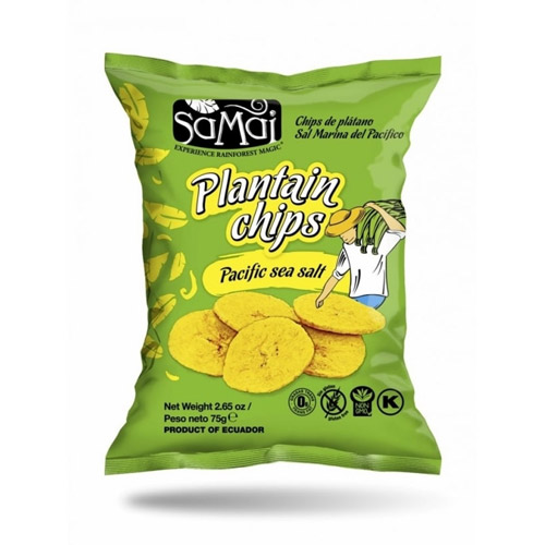 SaMai Plantain chips tengeri sós - 75g