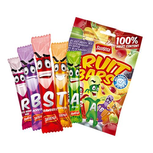 SunVita Fruit Bars Mix 10db - 150g