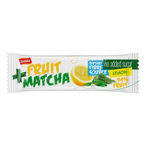 SunVita Gyümölcsszelet citrom, matcha tea - 30g