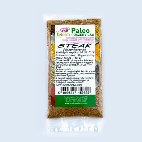 Szafi Reform Paleo Steak fűszerkeverék - 50g