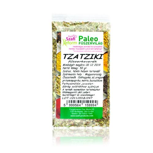 Szafi Reform Paleo Tzaztziki fűszerkeverék - 50g
