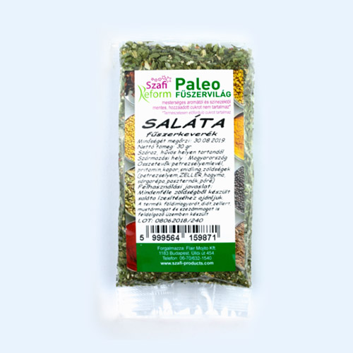 Szafi Reform Paleo Saláta fűszerkeverék - 30g