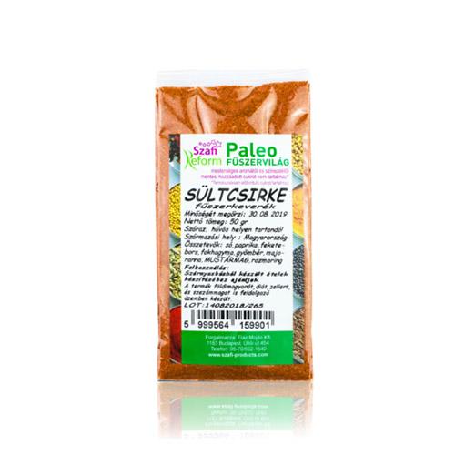 Szafi Reform Paleo Sültcsirke fűszerkeverék - 50g