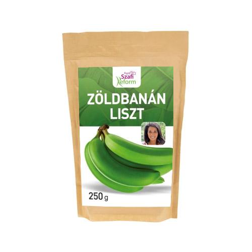Szafi Reform Zöldbanán liszt - 250g