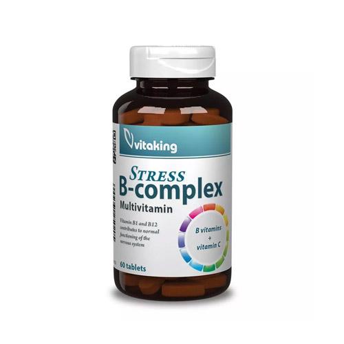 Vitaking Stressz B-komplex - 60 db