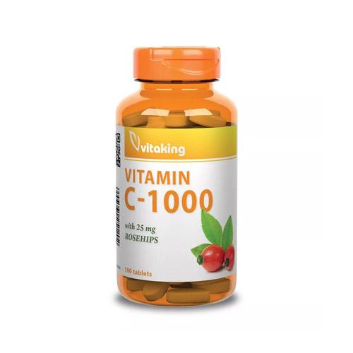 Vitaking C-vitamin 1000mg - 100db