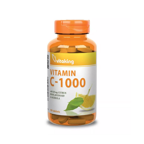Vitaking C-vitamin 1000mg Bioflavonoid - 90db
