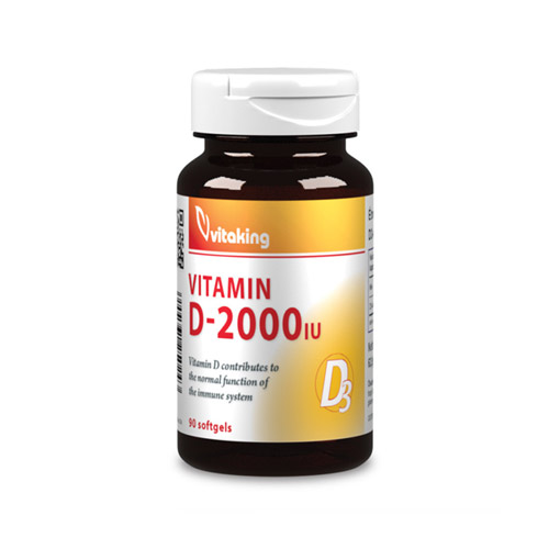 Vitaking D3-vitamin 2000NE - 90db