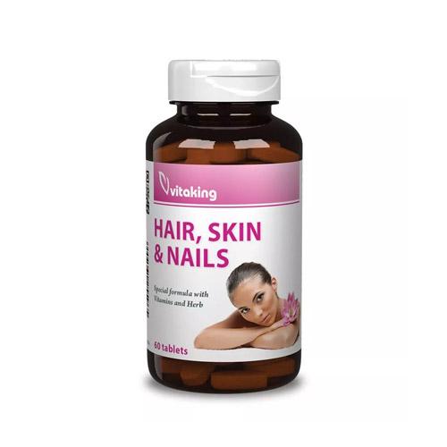 Vitaking Haj, Bőr, Köröm Complex - 60db