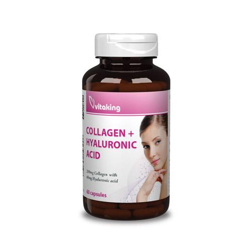 Vitaking Hialuronsav + Kollagén Komplex - 60db