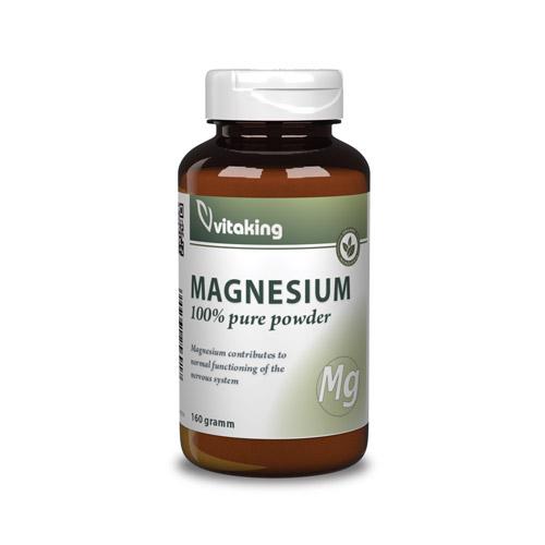 Vitaking Magnézium Citrát Por - 160g