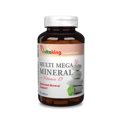 Vitaking Multi Mega Mineral – 90db