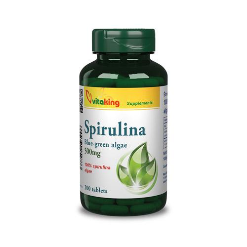 Vitaking Spirulina 500mg - 200db