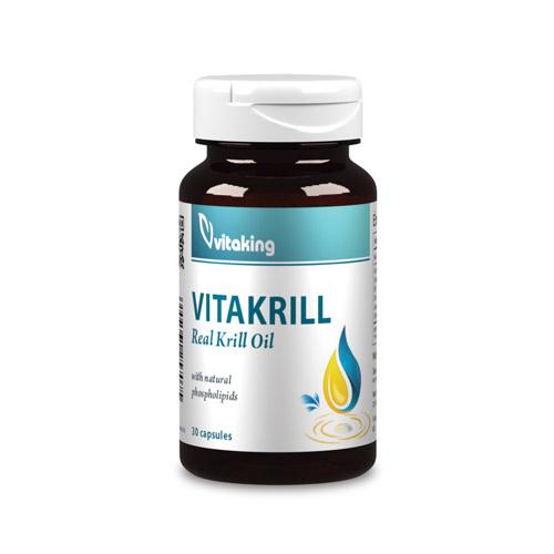 Vitaking VitaKrill Olaj 500mg - 30db