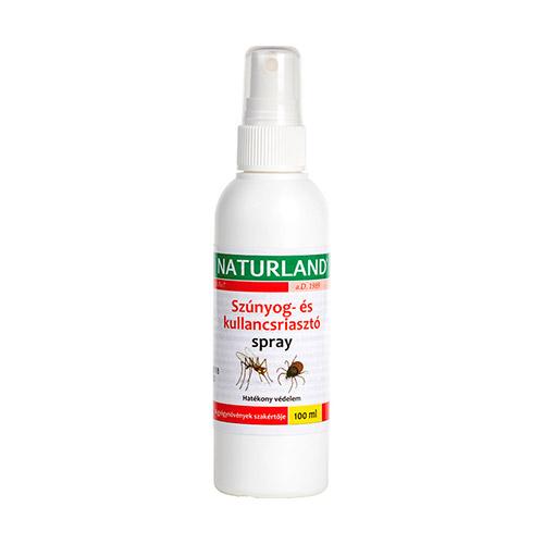 Naturland Szúnyog és kullancsriasztó spray - 100ml