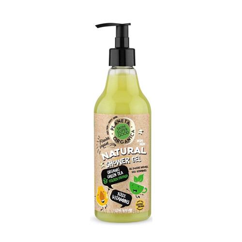 Planeta Organica 100% Vitamins természetes tusfürdő - 500ml
