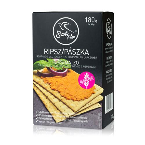Szafi Free Ripsz (gluténmentes pászka) - 180g