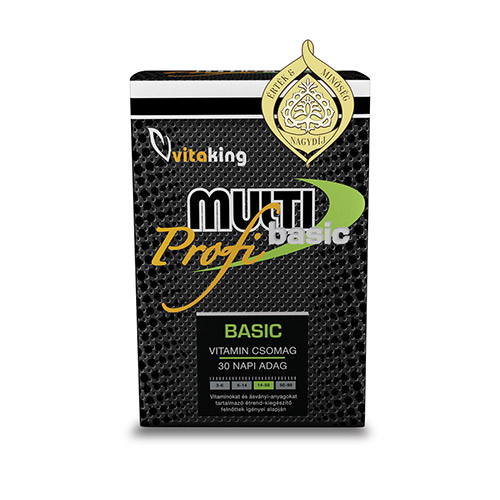 Vitaking Profi Basic Multivitamin - 30db
