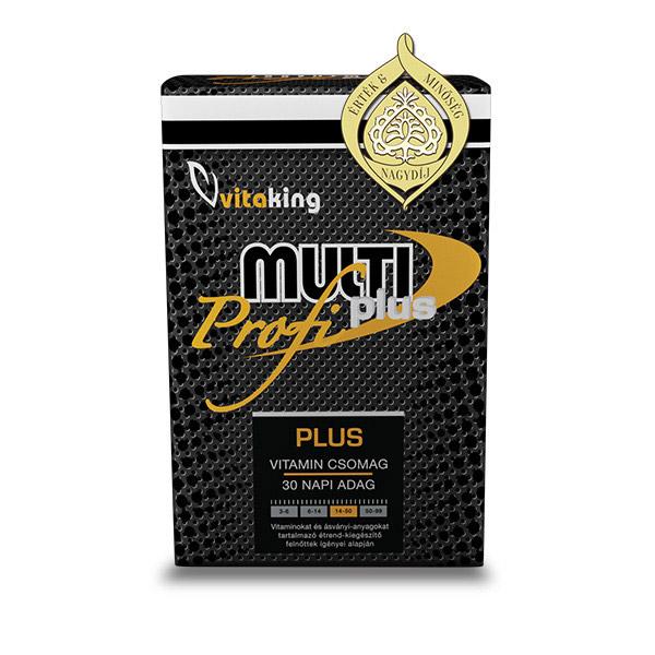 Vitaking Profi Plusz Multivitamin - 30db