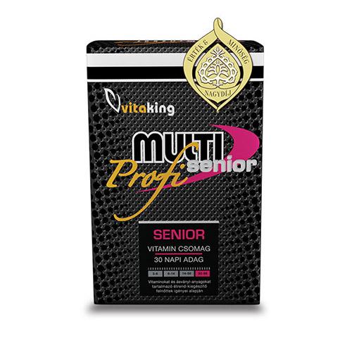 Vitaking Profi Senior Multivitamin - 30db