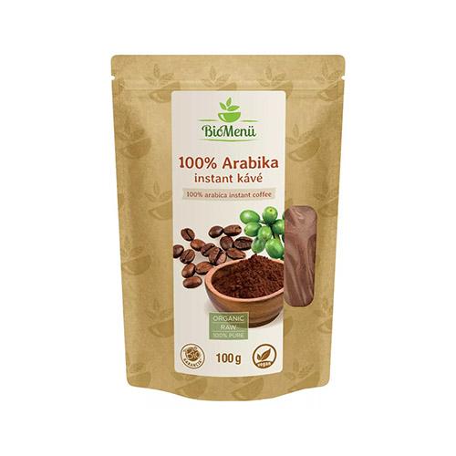 BioMenü Arabika instant kávé - 100g