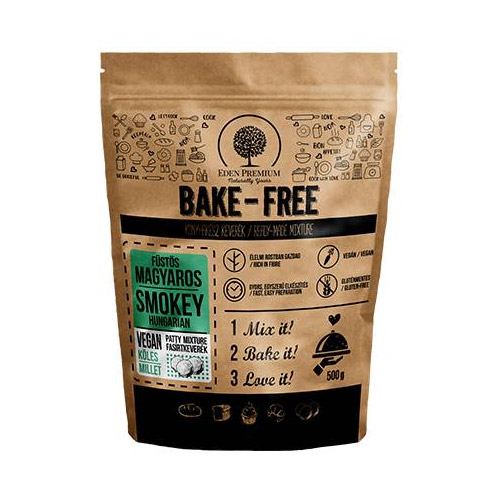 Eden Premium Bake-Free Füstös magyaros köleses fasírtkeverék - 500g