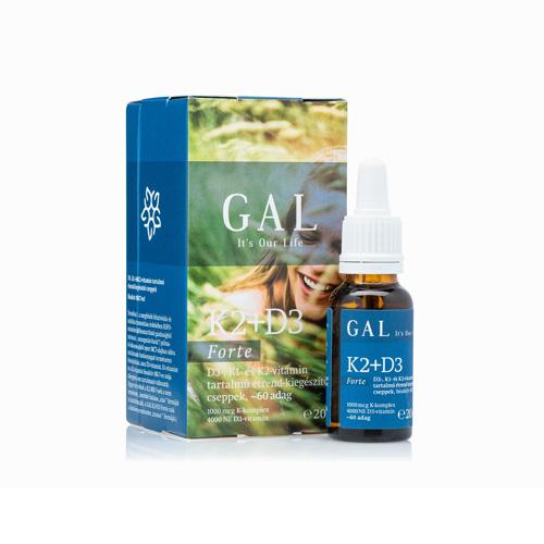 GAL D3+K2 vitamin Forte - 20ml