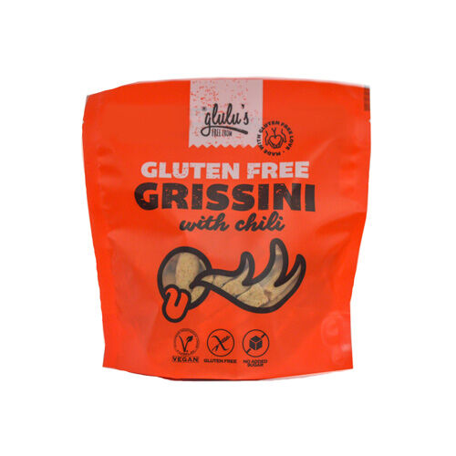 Glulu's FreeFrom Gluténmentes chillis grissini - 100g