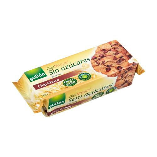 Gullón Chip Choko cukormentes keksz csokidarabkákkal - 125g