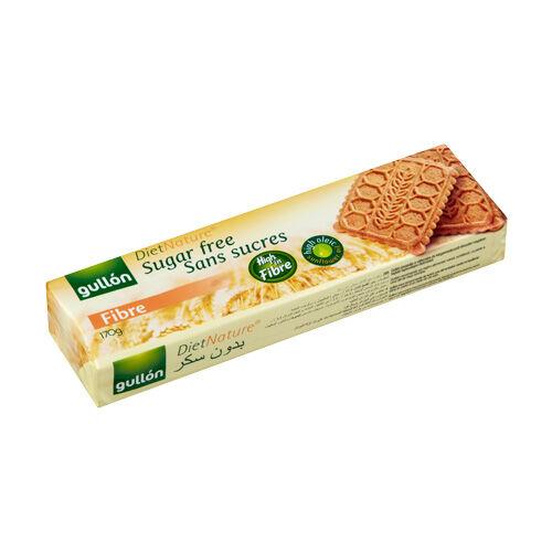 Gullón élelmi rostban gazdag cukormentes keksz - 170g
