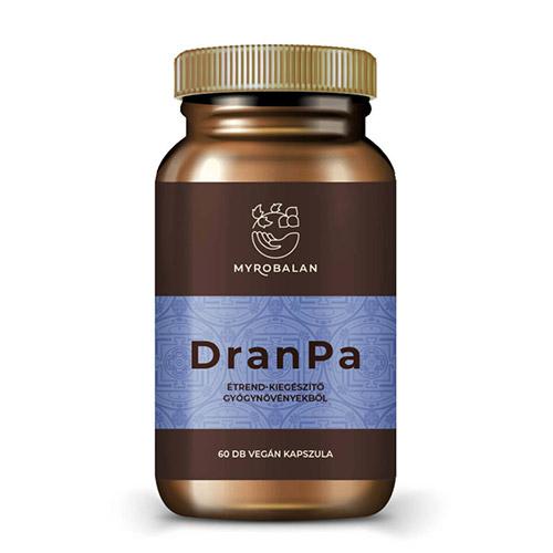 Myrobalan DranPa agyserkentő és memóriajavító gyógynövényes kapszula - 60db