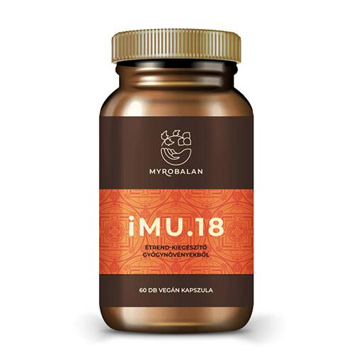 Myrobalan iMU18 - immunerősítő gyógynövény kapszula - 60db