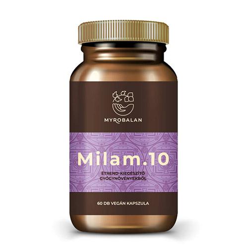 Myrobalan Milam10 - gyógynövény kapszula a pihentető alvásért - 60db