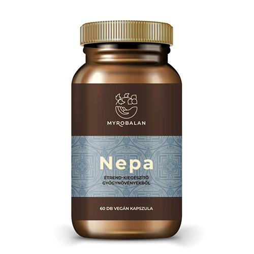 Myrobalan Nepa - gyógynövény kapszula a nyugodt tudatért - 60db