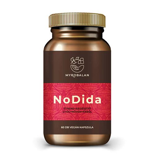 Myrobalan NoDida - gyógynövény kapszula gombák, paraziták és férgek ellent - 60db