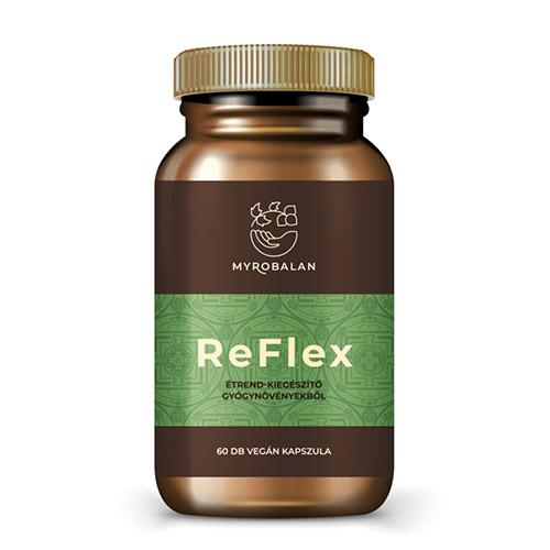 Myrobalan ReFlex - gyógynövény kapszula a fájdalommentes ízületekért - 60db