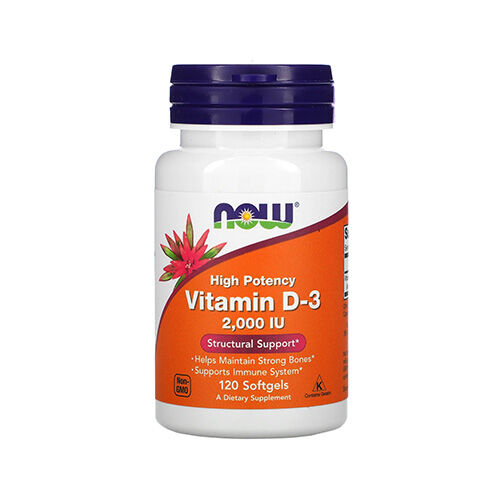 Now D3-vitamin 2000NE gélkapszula - 120db