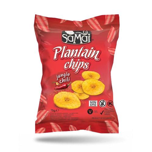 SaMai Plantain chips csípős chilli - 75g