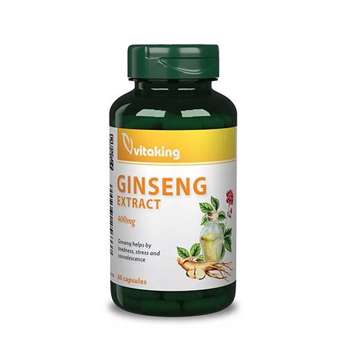 Vitaking Ginzeng kivonat - 60db