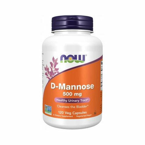 Now D-Mannose 500mg kapszula - 120db