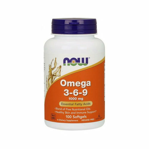 Now Omega 3-6-9 1000mg - 100db